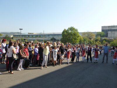 Откриване на новата учебна година - 9 ОУ Пейо Крачолов Яворов - Благоевград