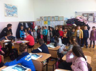 Скъпи гости - децата на ЦДГ№6 - 9 ОУ Пейо Крачолов Яворов - Благоевград