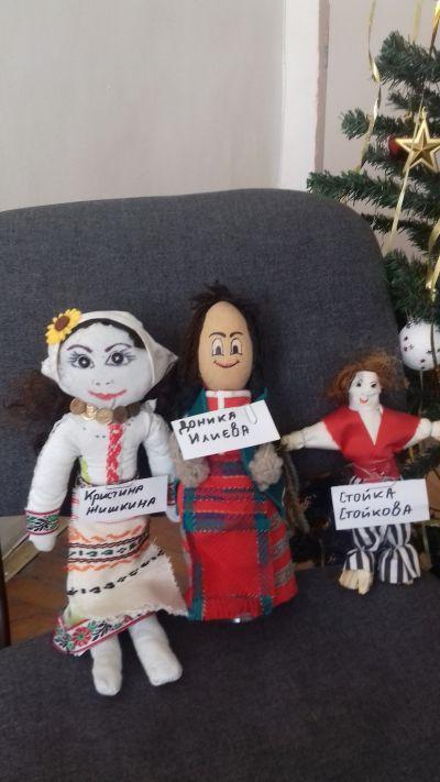 Куклите на Доника, Кристина и Стойка - 9 ОУ Пейо Крачолов Яворов - Благоевград