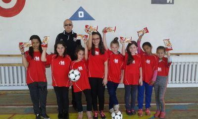 Отборът получи и награди - топки, тениски, кроасани. - 9 ОУ Пейо Крачолов Яворов - Благоевград