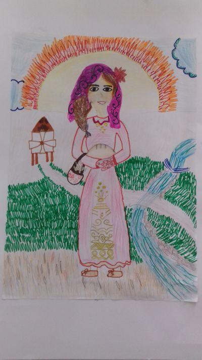 """Раннобудната стопанка"" на Мария от 5 клас - 9 ОУ Пейо Крачолов Яворов - Благоевград"