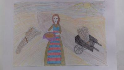 """""""На нивата"""" на Кристина от 7 клас - 9 ОУ Пейо Крачолов Яворов - Благоевград"""